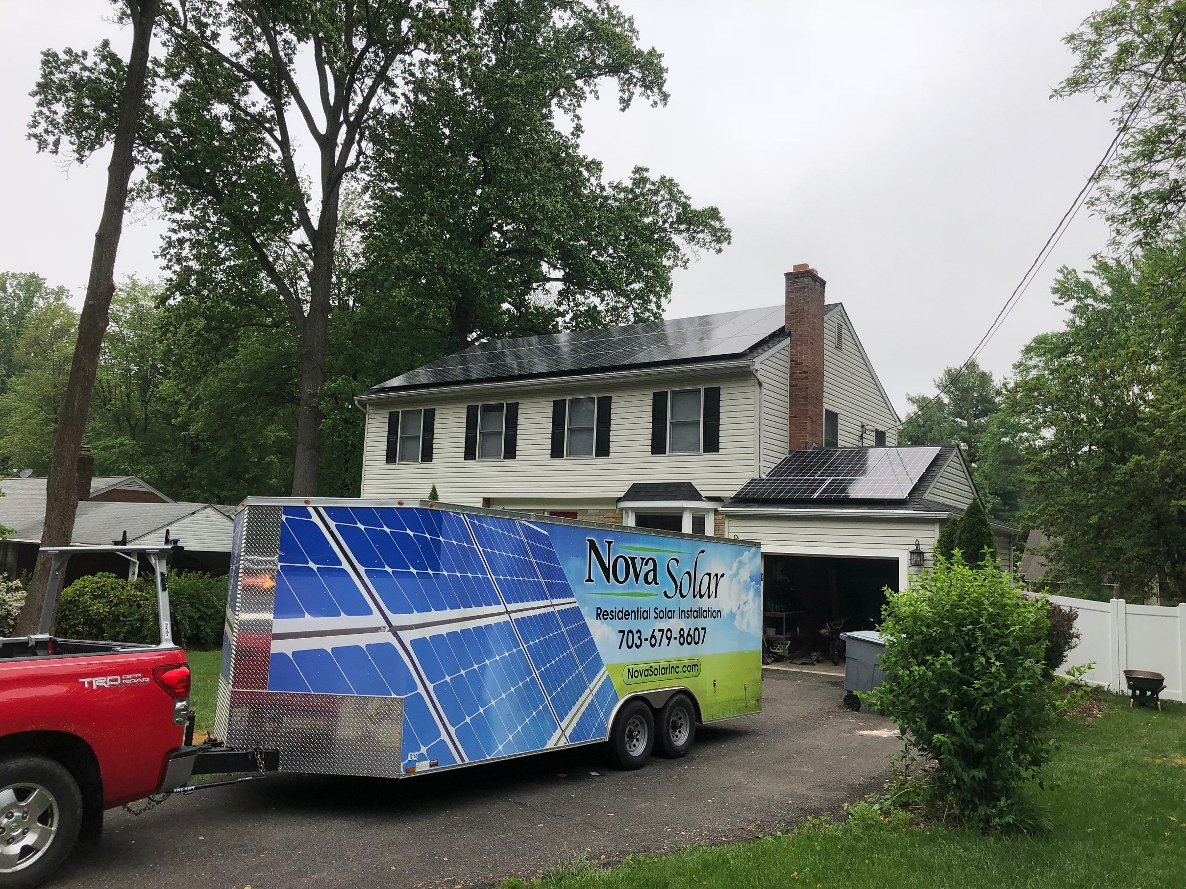 A Beautiful Solar Installation